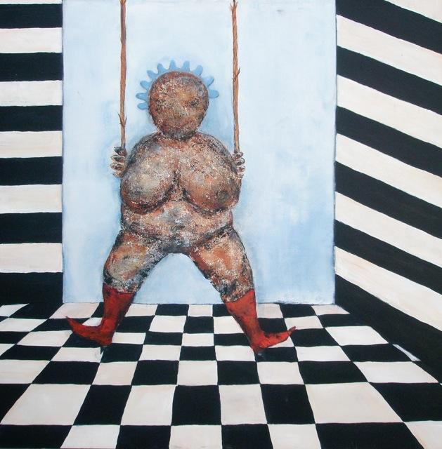 """Fru Willendorf: """"Det må bære eller briste! SOLGT!"""