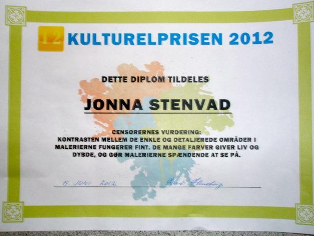 Kulturelprisen 2012